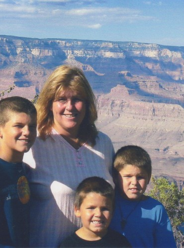 Steven, Amy, Alex, Kyle – Grand Canyon-2007