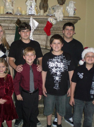All my beautiful grandchildren