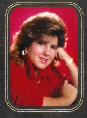 Amy – Senior picture – 1989