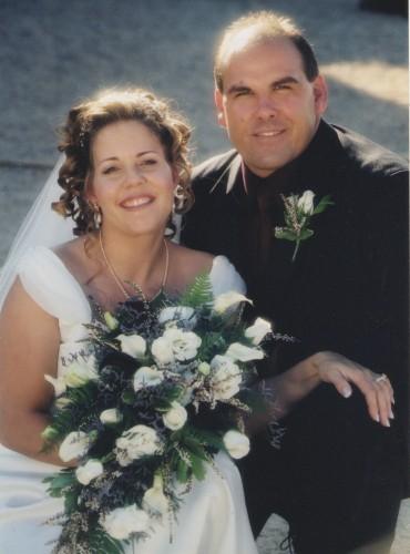 Dale & Rachel's wedding – 2003